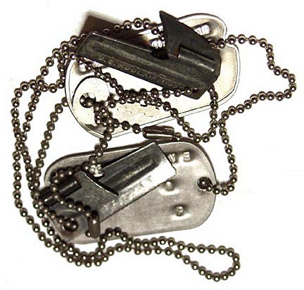 dog tags army. P-38 Can Opener The Armys Greatest Invention
